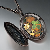 Necklace & Pendants - squirrel clover pendant necklace Image.
