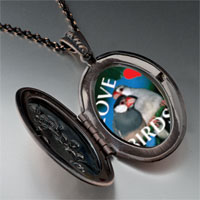 Necklace & Pendants - love birds blue pendant necklace Image.