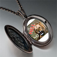 Necklace & Pendants - oh hell no lion pendant necklace Image.
