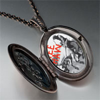 Necklace & Pendants - yee haw cowboy pendant necklace Image.