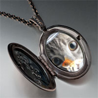 Necklace & Pendants - fishbowl cat pendant necklace Image.
