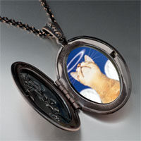 Necklace & Pendants - angel cat pendant necklace Image.