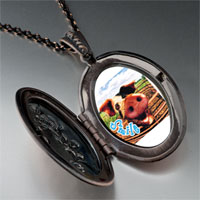 Necklace & Pendants - smile pig pendant necklace Image.