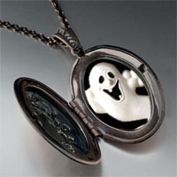 Necklace & Pendants - halloween ghost pendant necklace Image.