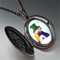 Necklace & Pendants - jewelry plastic christmas gifts snowman pendant necklace Image.