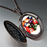 Necklace & Pendants - pool ball set pendant necklace Image.