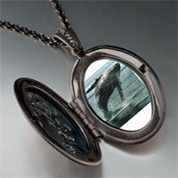 Necklace & Pendants - humpback whale ocean pendant necklace Image.