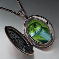 Necklace & Pendants - green snake pendant necklace Image.