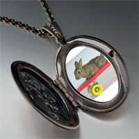Necklace & Pendants - bunny skateboarder pendant necklace Image.