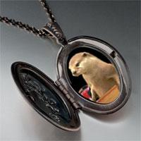 Necklace & Pendants - prairie dog drink pendant necklace Image.