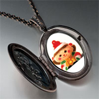 Necklace & Pendants - christmas doll red pendant necklace Image.