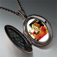 Necklace & Pendants - cozy gingerbread house pendant necklace Image.