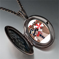 Necklace & Pendants - gingerbread man cookie halloween candy pendant necklace Image.