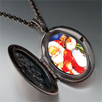 Necklace & Pendants - jewelry santa frosty christmas gifts snowman pendant necklace Image.