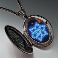Necklace & Pendants - neon snow flakes pendant necklace Image.