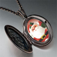 Necklace & Pendants - merry santa pendant necklace Image.