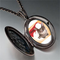 Necklace & Pendants - christmas cat pendant necklace Image.