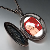 Necklace & Pendants - baby santa pendant necklace Image.