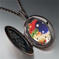 Necklace & Pendants - santa crescent pendant necklace Image.