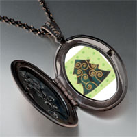Necklace & Pendants - christmas necklace swirl christmas tree gifts pendant necklace Image.
