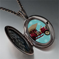Necklace & Pendants - miniature antique car pendant necklace Image.
