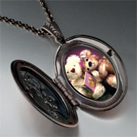 Necklace & Pendants - teddy bear story time pendant necklace Image.