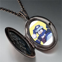 Necklace & Pendants - jewelry christmas gifts snowman doll pendant necklace Image.