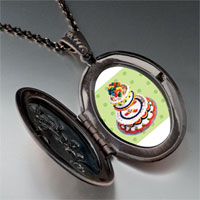 Necklace & Pendants - tiered birthday cake pendant necklace Image.