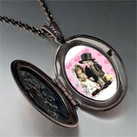Necklace & Pendants - little bride &  groom pendant necklace Image.