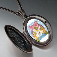 Necklace & Pendants - easter basket &  bunny pendant necklace Image.