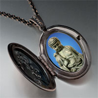 Necklace & Pendants - stone buddha pendant necklace Image.
