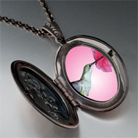 Necklace & Pendants - hummingbird photo pendant necklace Image.