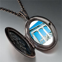 Necklace & Pendants - roman ruins pendant necklace Image.