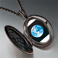 Necklace & Pendants - earth space pendant necklace Image.