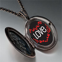 Necklace & Pendants - love in heart pendant necklace Image.