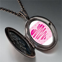 Necklace & Pendants - heart scribble pendant necklace Image.