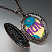 Necklace & Pendants - flower necklace pendant Image.