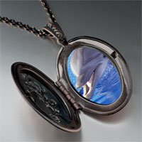 Necklace & Pendants - smiling dolphin pendant necklace Image.
