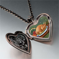 Necklace & Pendants - thanksgiving food photo heart locket pendant necklace Image.