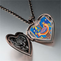 Necklace & Pendants - partridge in pear tree photo heart locket pendant necklace Image.