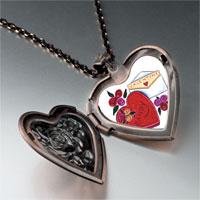 Necklace & Pendants - valentines photo heart locket pendant necklace Image.