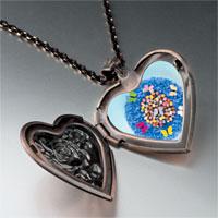 Necklace & Pendants - world butterflies photo heart locket pendant necklace Image.