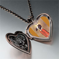 Necklace & Pendants - manet' s art fifer photo heart locket pendant necklace Image.