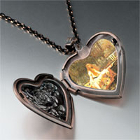 Necklace & Pendants - lady shallot photo heart locket pendant necklace Image.