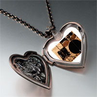 Necklace & Pendants - rock roll drums photo heart locket pendant necklace Image.