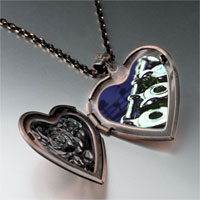 Necklace & Pendants - flute music photo heart locket pendant necklace Image.