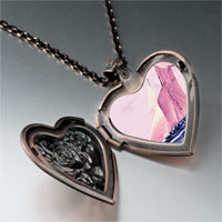 Necklace & Pendants - sail boat photo photo heart locket pendant necklace Image.