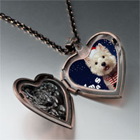 Necklace & Pendants - christmas heart locket pendant necklace Image.