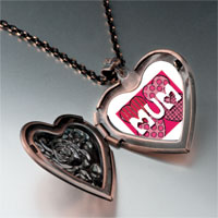 Necklace & Pendants - call mother mum heart locket pendant necklace Image.