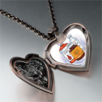 Necklace & Pendants - medical remedies heart locket pendant necklace Image.